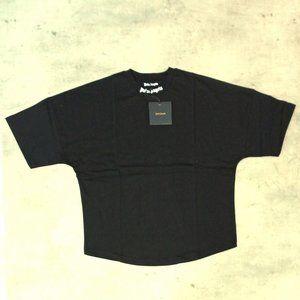 Palm Angels Over Sized Black T-Shirt , Men's